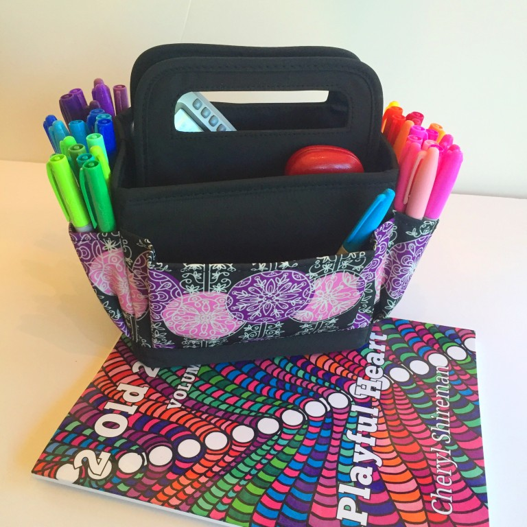 Coloring Book Organizer : Mary desktop scrapbook organizer