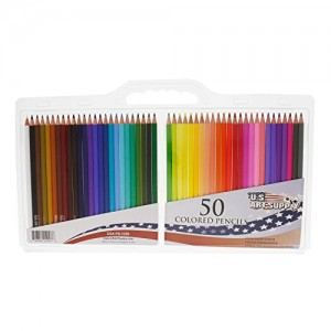 US-Art-Supply-Brand-50-Piece-Colored-Pencil-Set-Now-Includes-a-FREE-Reusable-Plastic-Carry-Case-0