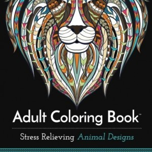 Adult-Coloring-Book-Stress-Relieving-Animal-Designs-0