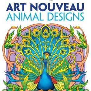 Dover-Creative-Haven-Art-Nouveau-Animal-Designs-Coloring-Book-Creative-Haven-Coloring-Books-0