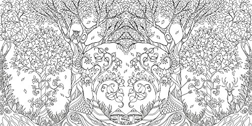 Enchanted Forest An Inky Quest Coloring Book