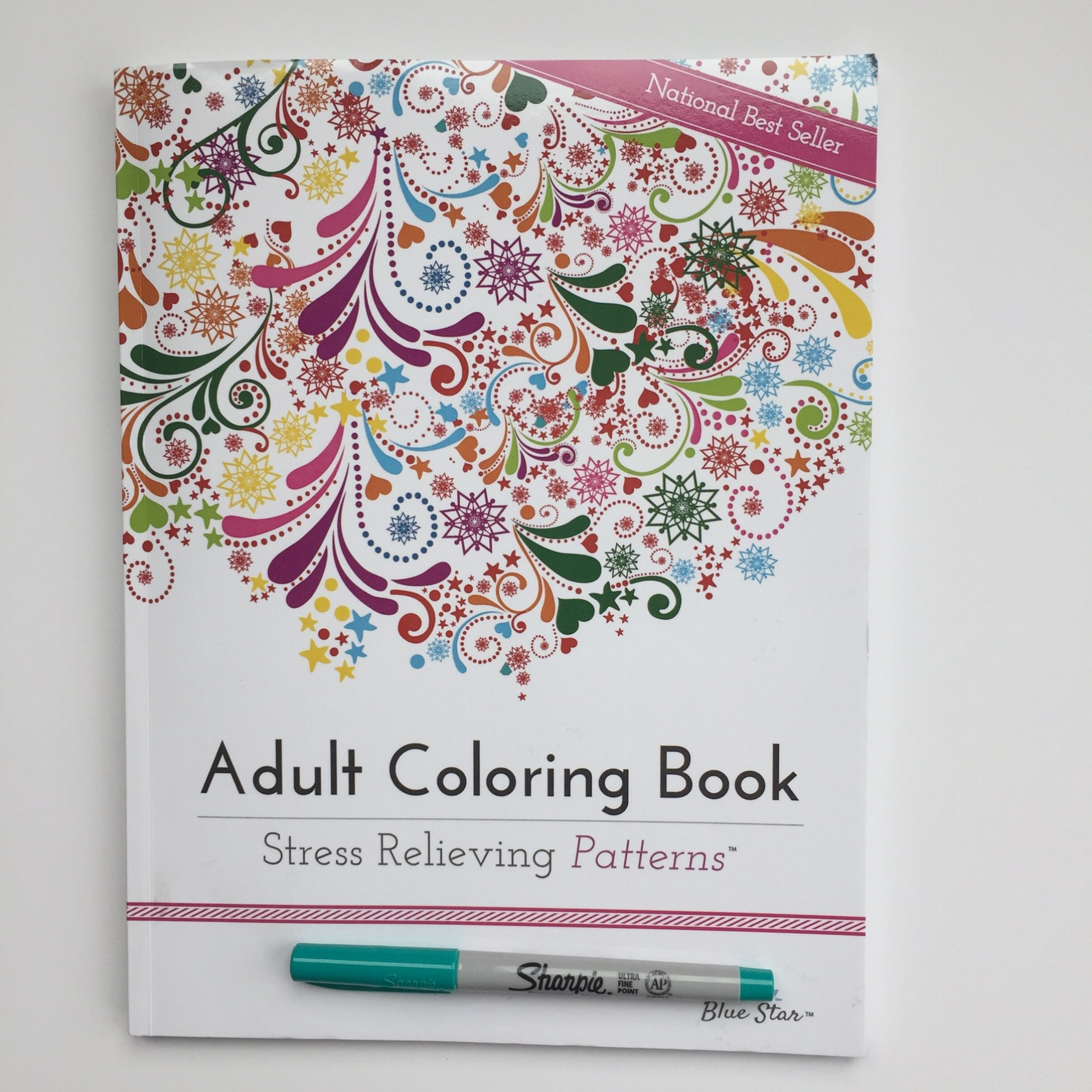 Adult Coloring Book Stress Relieving Patterns Review