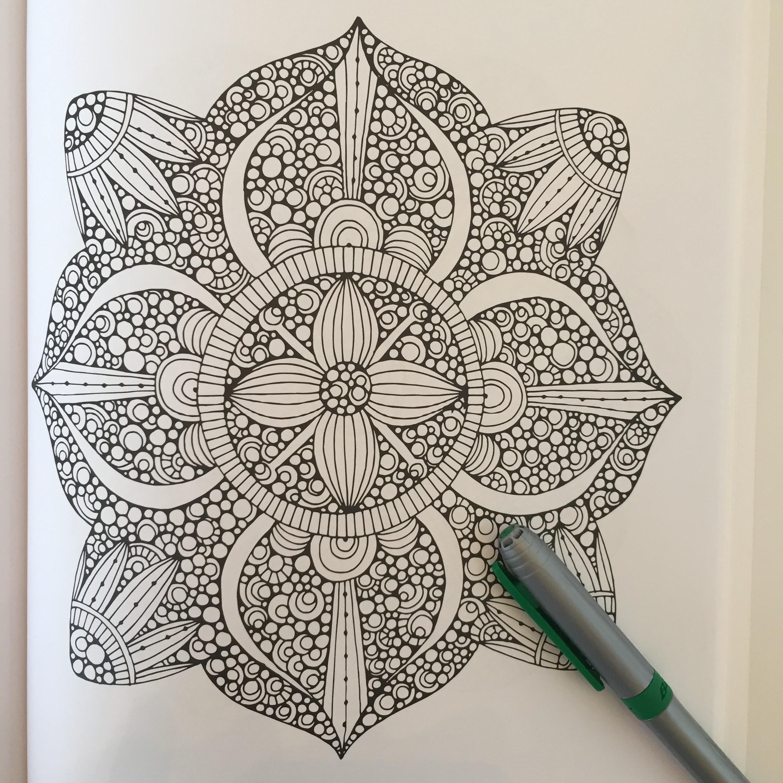 Creative Coloring Mandalas - 2 Old 2 Color