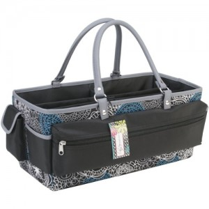 Mackinac-Moon-Open-Top-Extra-Long-Tote-Teal-WhiteBlack-0