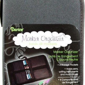 Marker-Organizer-Case-Holds-48-Markers-Zippered-Nylon-0