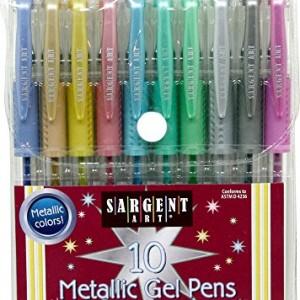 Sargent-Art-22-1500-10-count-Metallic-Gel-Pens-0