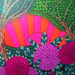 dark and light colors for contrast adult coloring book coloring tips