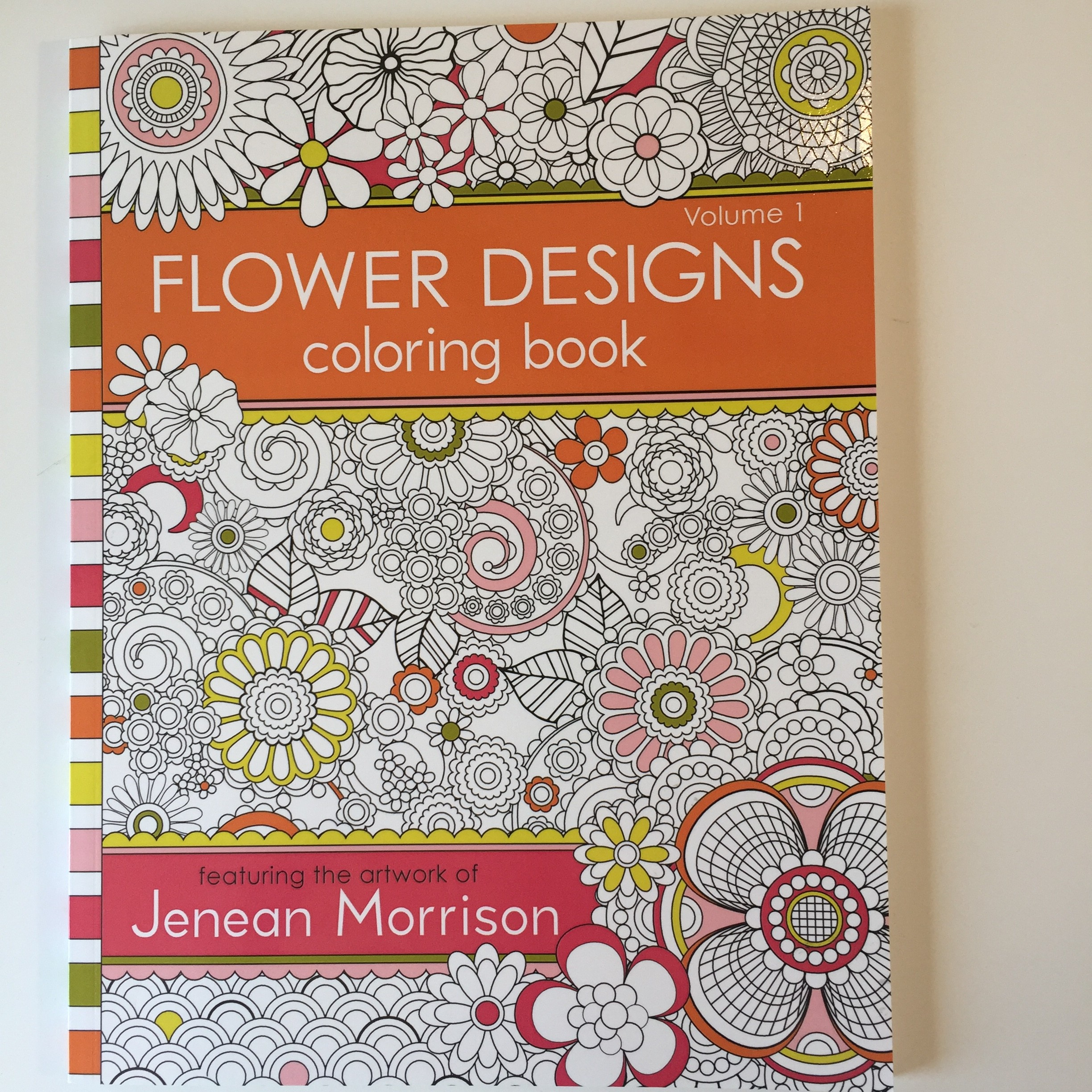 Flower designs coloring book - Img_7328