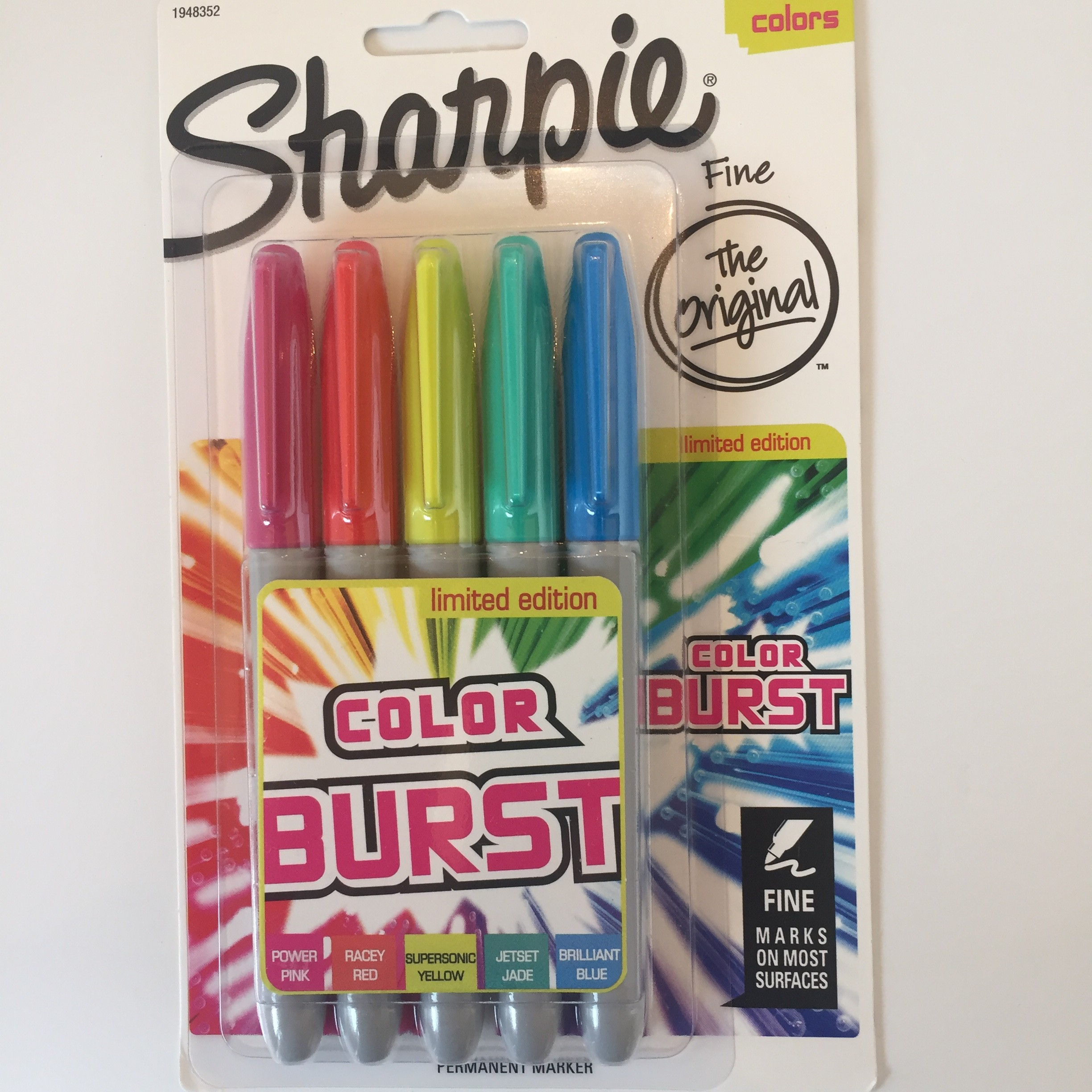 New Sharpie Color Burst Markers Review 2 Old 2 Color