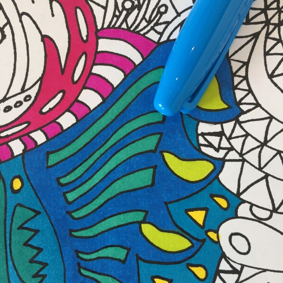 Sharpie Color Burst markers