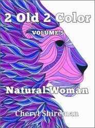 Monochromatic adult coloring book coloring tips