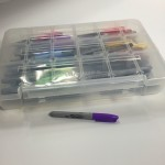 art supply storage case