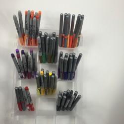 art supply storage case