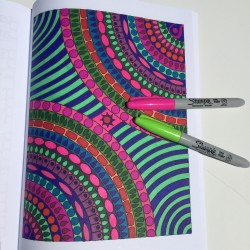 color patterns adult coloring book coloring tips