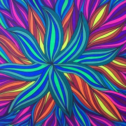 combine neon and regular markers adult coloring book coloring tips