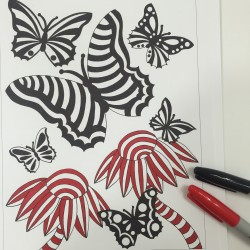 leave sections uncolored adult coloring book coloring tips
